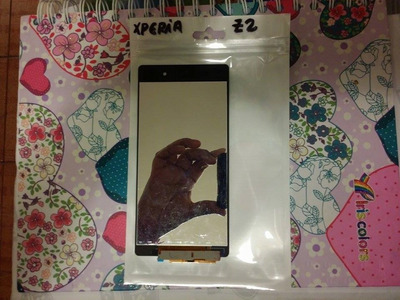 pantalla display lcd +tactil touch xperia z2 pedido unica pi