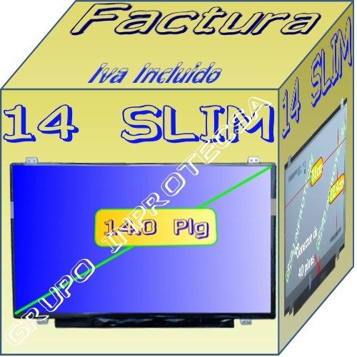 pantalla display led 14.0 slim  b140xtn03.1 daa dmm