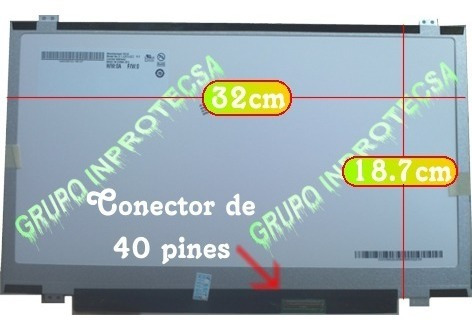 pantalla display led 14.0 slim compatible svf142c29u vmj