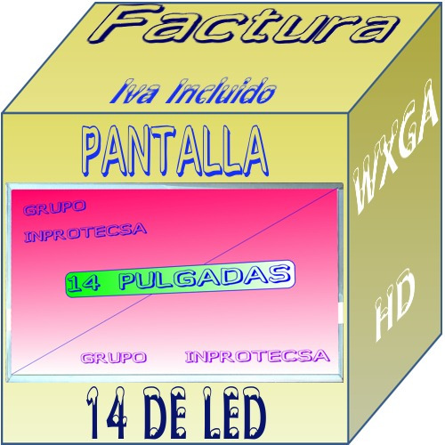pantalla display led dell inspiron 1464 n4030 n4020 daa mdn