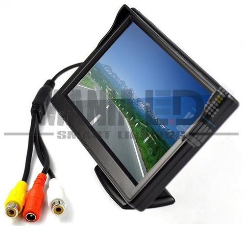 pantalla display para cámara marcha atras 4.3 entrada rca
