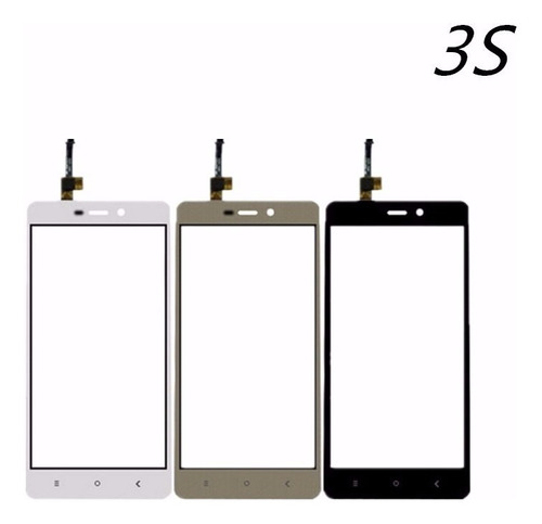 pantalla display touch + lcd xiaomi redmi 3, 3s y 3s pro