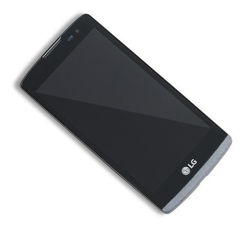 pantalla display vidrio tactil touch lg leon h340 con marco