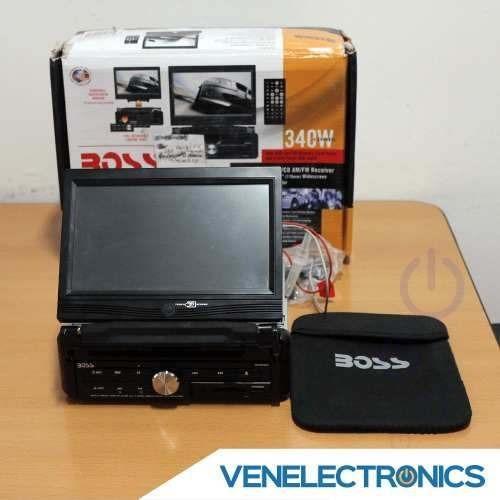 pantalla dvd boss 7 pulgadas 340 watts bv9955 rma tienda f