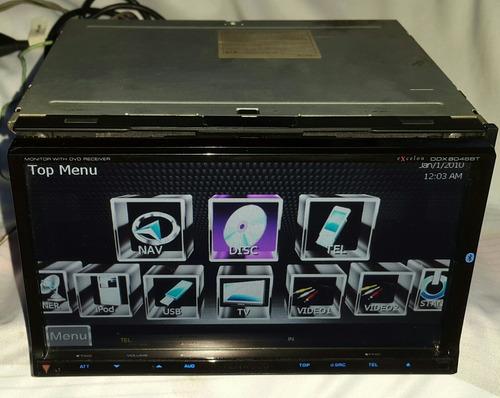 pantalla dvd kenwood 8046bt gps tv usb especial para toyota