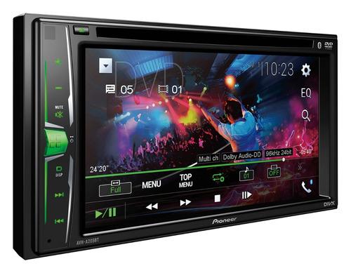 pantalla dvd pioneer avh-a205bt  garantia oficial