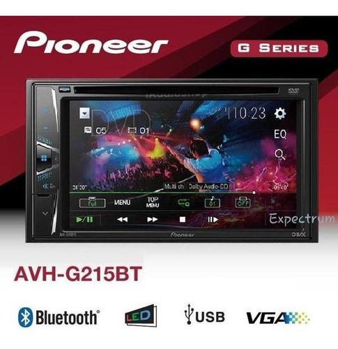 pantalla dvd pioneer bluetooth + camara de retroceso 200vds