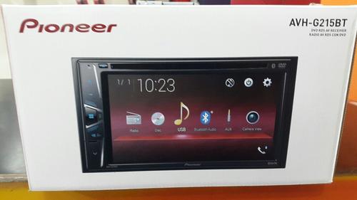 pantalla dvd pioneer usb bt  avh-g215bt  tienda ! 180 vdrs