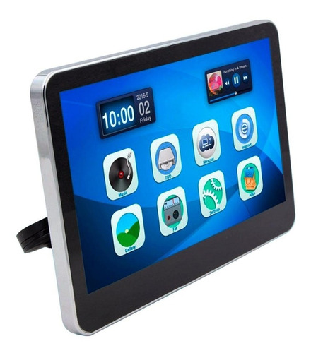 pantalla dvd vak 1001 touch 10' android hdmi usb 8gb wifi bl