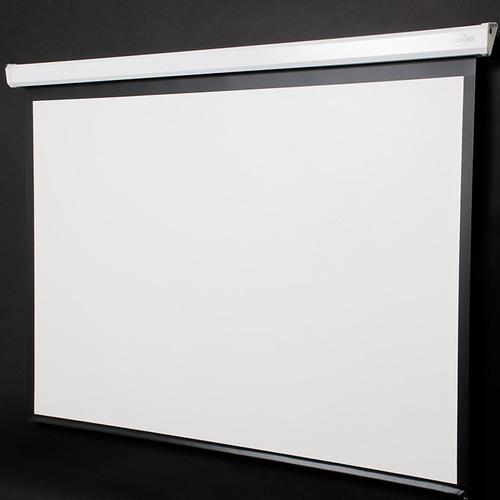 pantalla electrica vidium 77  170x96 cm 16:9 cine series tv