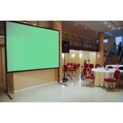 pantalla estructura de video proyeccion back & front 3x3m.
