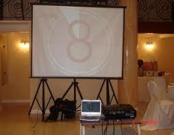 pantalla eventos proyector