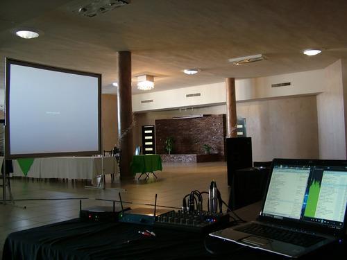 pantalla gigante proyeccion back / front modelo en oferta