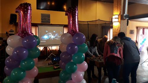 pantalla gigante proyectores cumpleaños infantiles parlantes