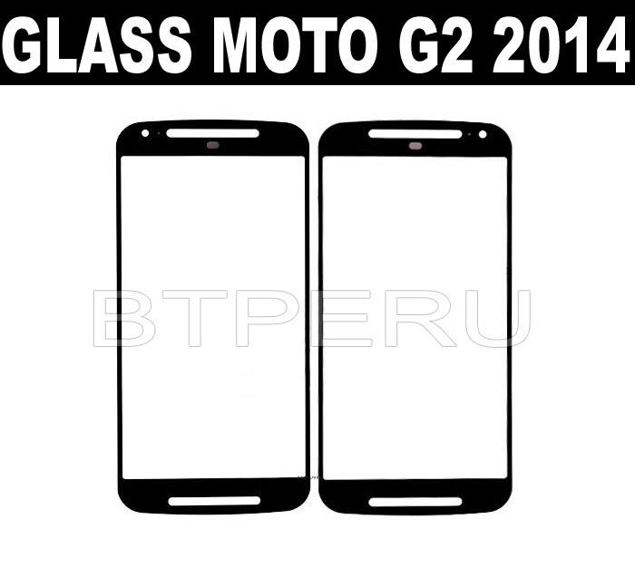 pantalla glass motorola moto g g2 xt1063 2014 vidrio 2da gen
