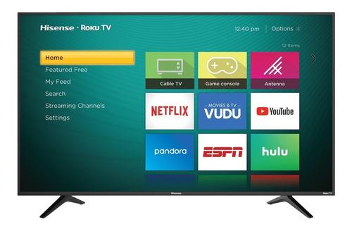 pantalla hisense 60 60r6e television 4k smart tv roku hdr
