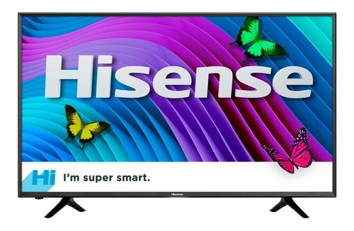 pantalla hisense smart tv 43 43r6e roku tv 4k uhd hdr wifi
