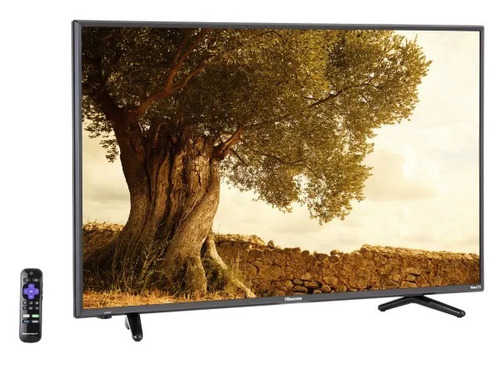 pantalla hisense smart tv 4k 43 uhd 43r7e roku tv factura