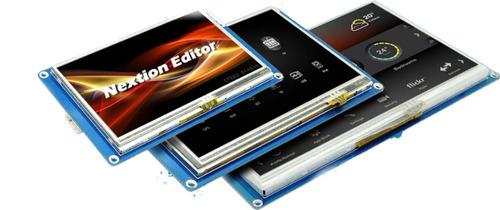 pantalla hmi tft serial arduino rasperry pi nextion 4.3 inc