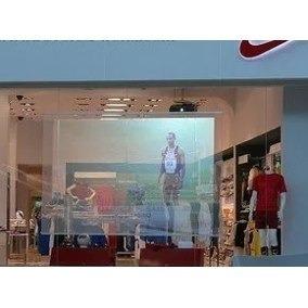 pantalla holografica semitranslucida american screens 90x120
