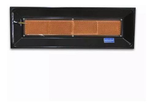 pantalla infrarroja 4000 cal. valvula seguridad estufa gn ge