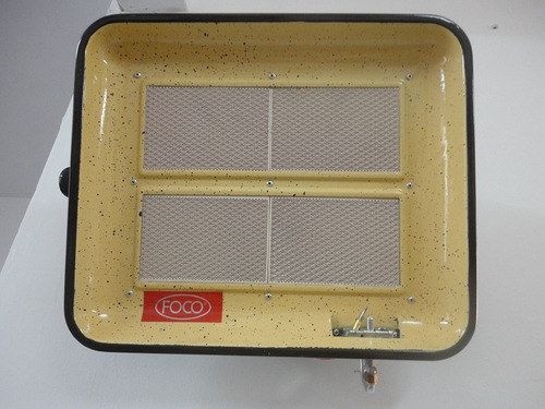 pantalla infrarroja foco 3000/6000cal para gas natural