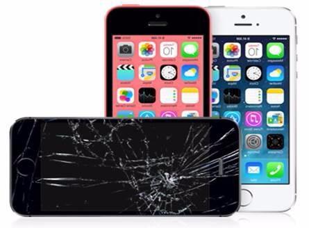 pantalla iphone 5g 5s 5c sin instalación
