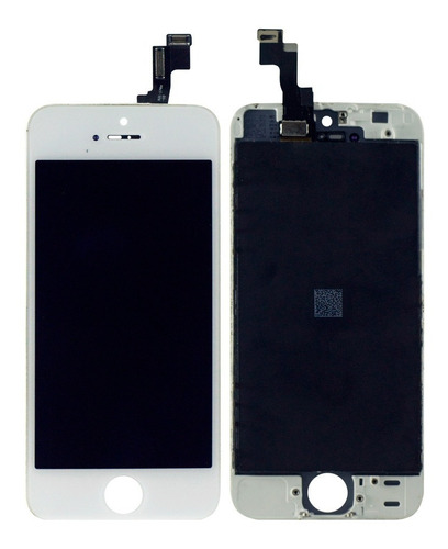 pantalla iphone 5s blanca lcd + touch mica tactil