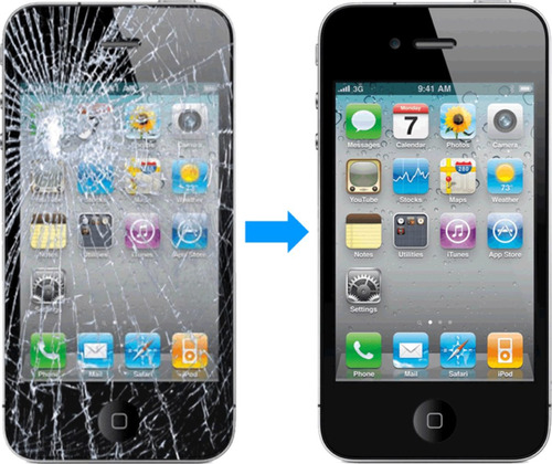 pantalla iphone 5s remplazo total ya istalada original 100%