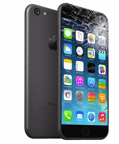 pantalla iphone 6 cambio + vidrio templado a domicilio