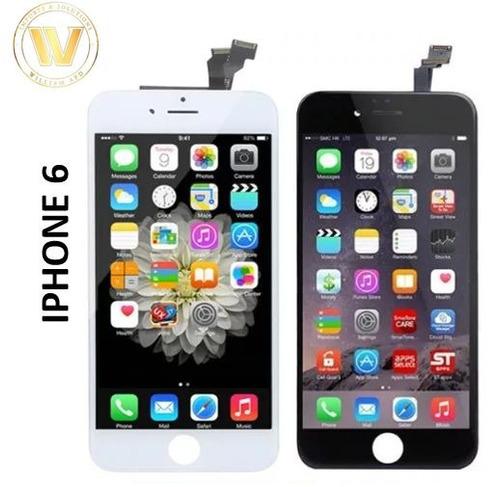 pantalla iphone 6 + garantía + tienda + blanca negra