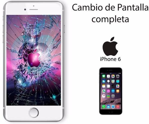 pantalla iphone 6 sin instalación