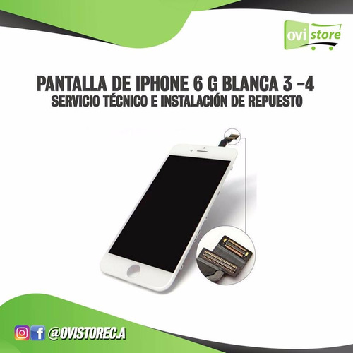 pantalla iphone 6g pantalla +mica +tactil