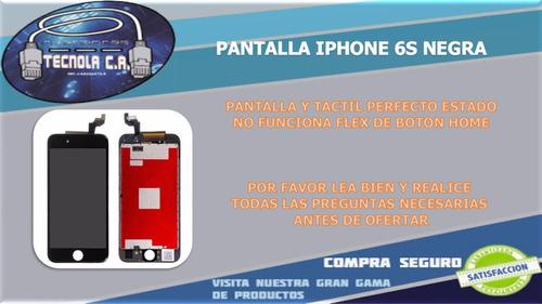 pantalla iphone 6s negra instalacion incluida tecnola