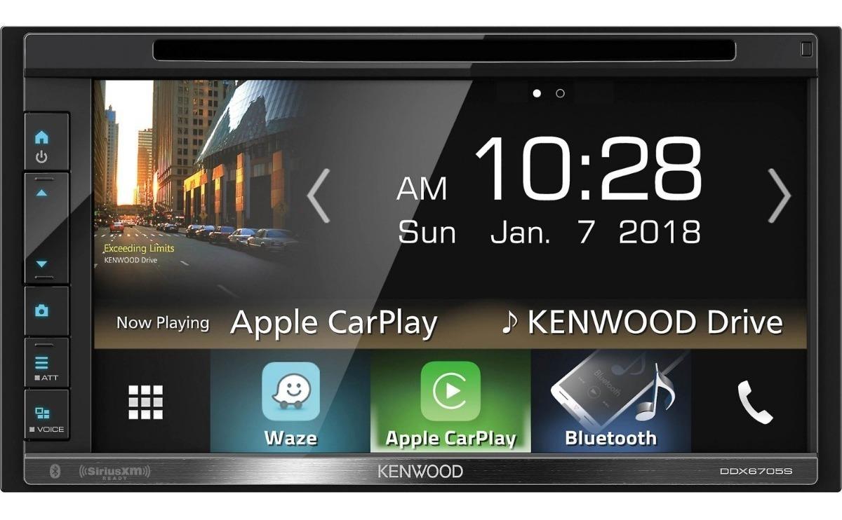 Pantalla Kenwood 2 Din Ddx6705s Carplay Android Auto Youtube