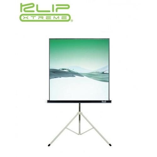 pantalla klipx 120  electrica para proyector