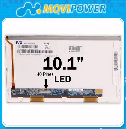 pantalla laptop 10.1'' led hp toshiba sony asus acer gtia