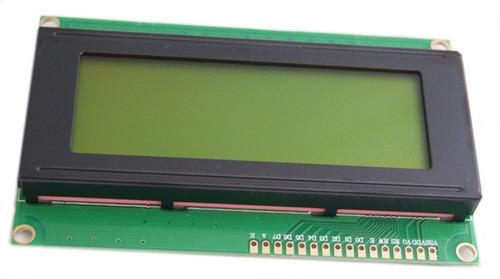 pantalla lcd 20x4 tc2004a-01 (arduino, pic, avr, msp430)