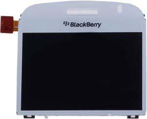 pantalla lcd blanca blackberry bold 9000 001/004 celular bb
