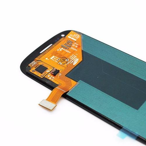 pantalla lcd con bisel o marco samsung s3 mini nueva 8190