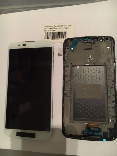 pantalla lcd con tactil lg k10 completa