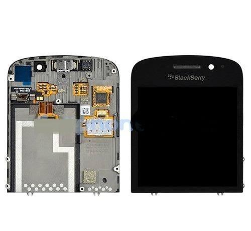 pantalla lcd de blackberry q10 negras originales