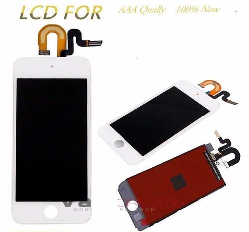 pantalla lcd digitalizador para ipod touch 5 5th gen blanca