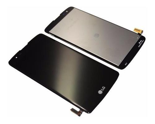 pantalla lcd display y touch vidrio tactil lg k8 k350