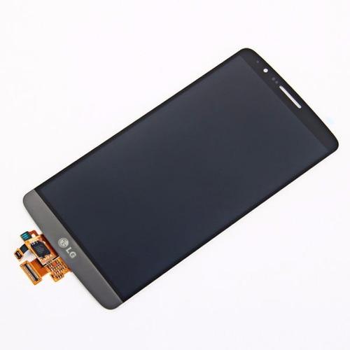 pantalla lcd display y vidrio tactil lg g3 d855 colocada