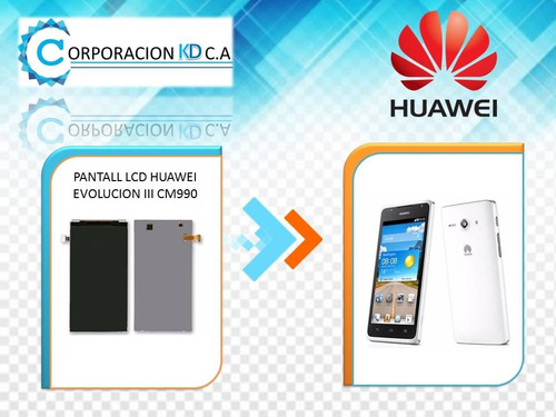 pantalla lcd huawei cm990 g510 100% original con garantia