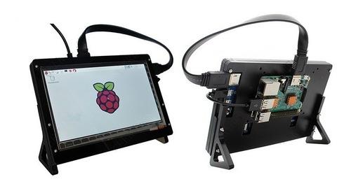 pantalla lcd ips 7 pulgada táctil para raspberry pi 1024*600