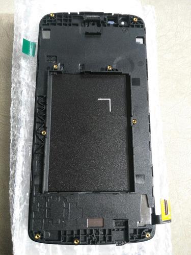 pantalla lcd más táctil lg k8, con marco, envio gratis