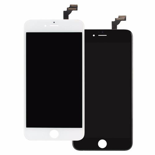pantalla lcd  mica completa iphone 6 plus 5.5 negras paumei