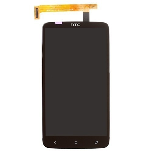 pantalla lcd+mica tactil htc one x s720e color negra